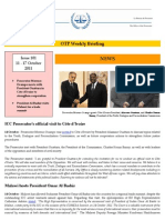 OTP Weekly Briefing_11-17 October 2011 #101