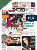 Weekly Choice - October 27, 2011