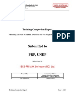 Training Completion Report Updated on 11th_ August Final