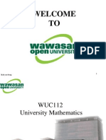 UMath Unit1 3UMA2 Slides