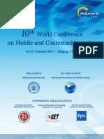 mLearn 2011 (BeiJing) Conference Proceedings