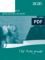 Acas Guide on Discipline and Grievances at Work March 2011[1]