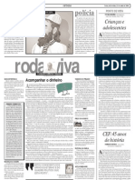 ( - ) JORNAL DIÁRIO DE NATAL - Materias