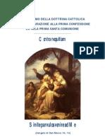 CATECHISMO PRIMA COMUNIONE