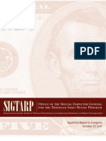 US Treasury SIGTARP
