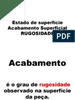 RUGOSIDADE'