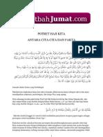 Khutbah Jumat Potret Haji Kita.