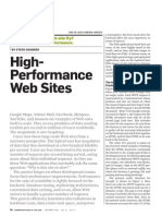 High-Performance Web Sites