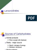 2.0 Kimia Makanan Carbohydrates