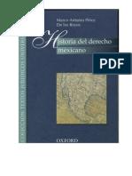 Historia Del Derecho Mexicano 4 Derecho Indiano Marco Antonio Perez de Los Reyes
