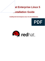 Red Hat Enterprise Linux 5 Installation Guide en US