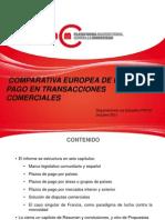 Comparativa europea - PMcM