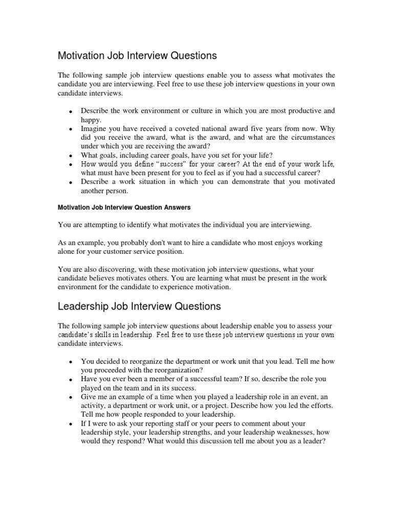 Interview Questions 128 | Job Interview | Liderança e mentoria