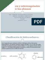 Estructura y Estereoquimica de Los Alcanos