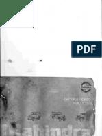 Mahindra (Thar) mm 540 DP Manual