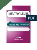 #ENTRY LEVEL tweet Book02