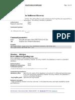 Mandato Roll Forward Database