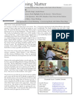 DVC-GBW October 2011 Newsletter
