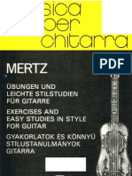 MERTZ - Exercises and Easy Studies guitar