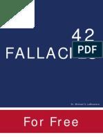 42 Fallacies