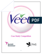 Veet RB Case Study Competition