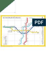 tehran Metro Map