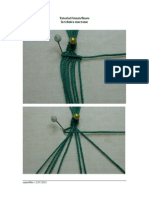 Tutorial Frunza Floare-macrame