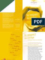 Guide Respect Au College Dpt Du Rhone