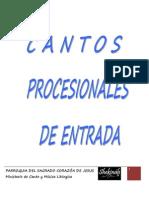 Cantoral Entrada 2011-2012