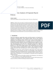 A Time-Series Analysis of Corporate Payout Policies_2004