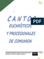 Cantos Eucarísticos con acordes 2014