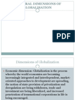 Cultural Dimensions of Global is at Ion
