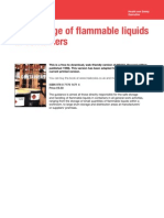 The Storage of Flammable Liquids - Hsg51