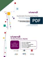 Políticas de Desarrollo Sostenible