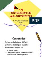 Desnutricion 2006 Clase(M Gonzalez)