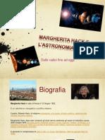 Margherita Hack e l'astronomia
