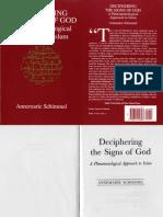 Deciphering the Signs of God - Annemarie Schimmel