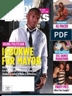 Columbia, Study Breaks Magazine, November 2011