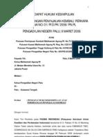 Pendapat Hukum Pk Tibo
