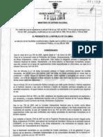 Decreto 3750 2011 DH Desminado Humanitario en Colombia