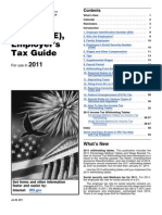 Publication 15 Circular E Employers Tax Guide for Use 2011