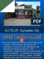 Upper Canada Village Sonore