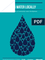Managing Water Locally