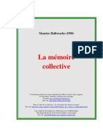 HALBWACH La Memoire Collective[1]