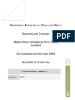 Quimica Organica y Bioquimica