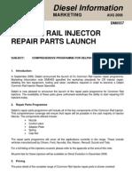 DM0557 CR Injector Repair Parts OSN