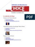 Newsletter #1 - 2 Ottobre 2011