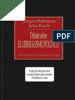 Habermas, J & Rawls, J - Debate Sobre El Liberalismo Politico