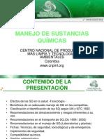 6 Presentacion Manejo de Sustancias Quimicas Cnpml[3]