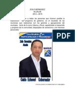 Programa de Gobierno Zoilo de Jesus Bermudez